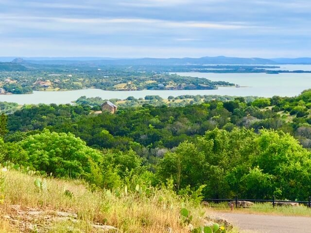 View of Lake Buchanan from Wolf Creek Ranch